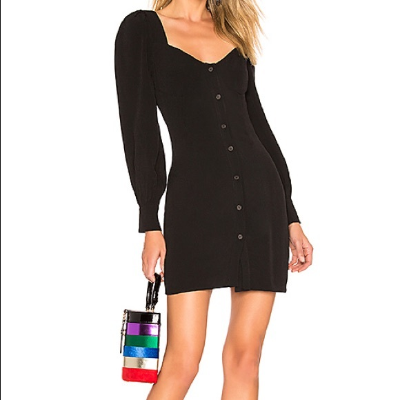About Us Dresses & Skirts - Revolve About Us Giselle Button Front Mini Dress